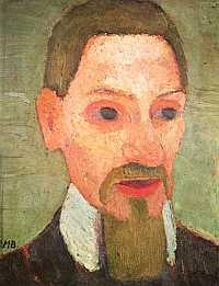 Rilke por Paula Modersohn-Becker (Wikimedia Commons)