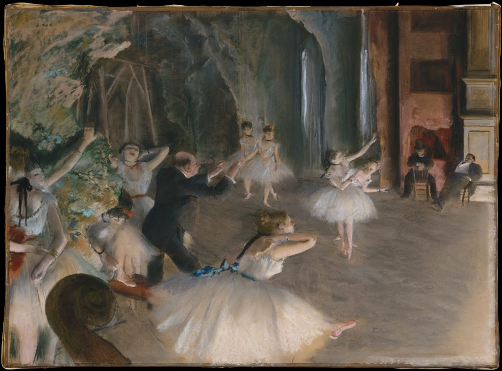 Edgard Degas, Metropolitan Museum of Art, Wikimedia Commons